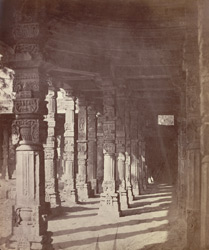 The Kootub [Delhi]. The corridor at the north-east angle of the inner enclosure.